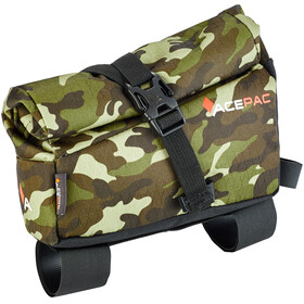 Acepac Roll Fuel Frame Bag Borsello beige/marrone